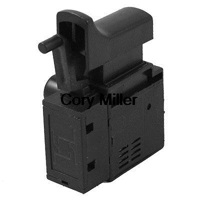 Speed Control SPNO Lock On Electric Power Tool Trigger Switch fa2 6 1bek spst lock on power tool trigger button switch black