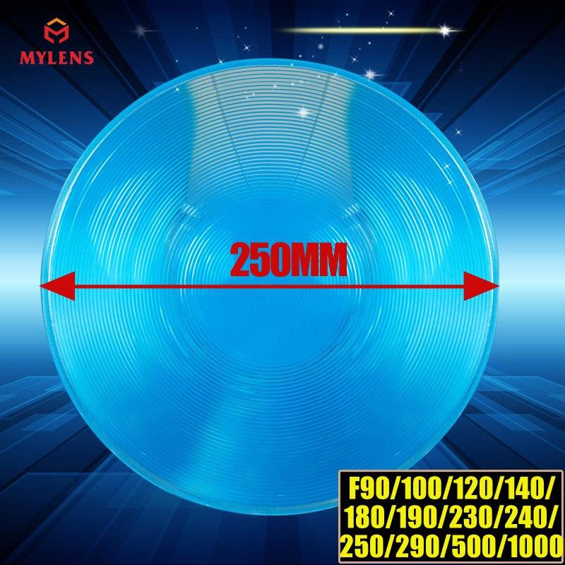 Fresnel lens Diameter 250 long focal length500mm stage lighting condenser lens thread,magnify lens,traffic light fresnel lens