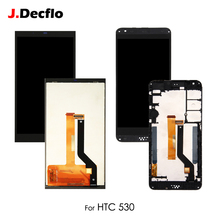 For HTC Desire 530 D530 LCD Display Touch Screen Digitizer Assembly Replacement With/No Frame 100% Tested Original 5.0'' original for htc desire 400 lcd display digitizer touch screen assembly with frame black free shipping