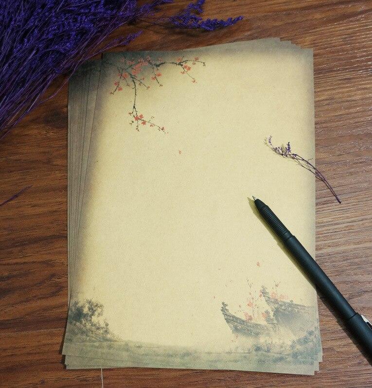 papier à lettre kraft