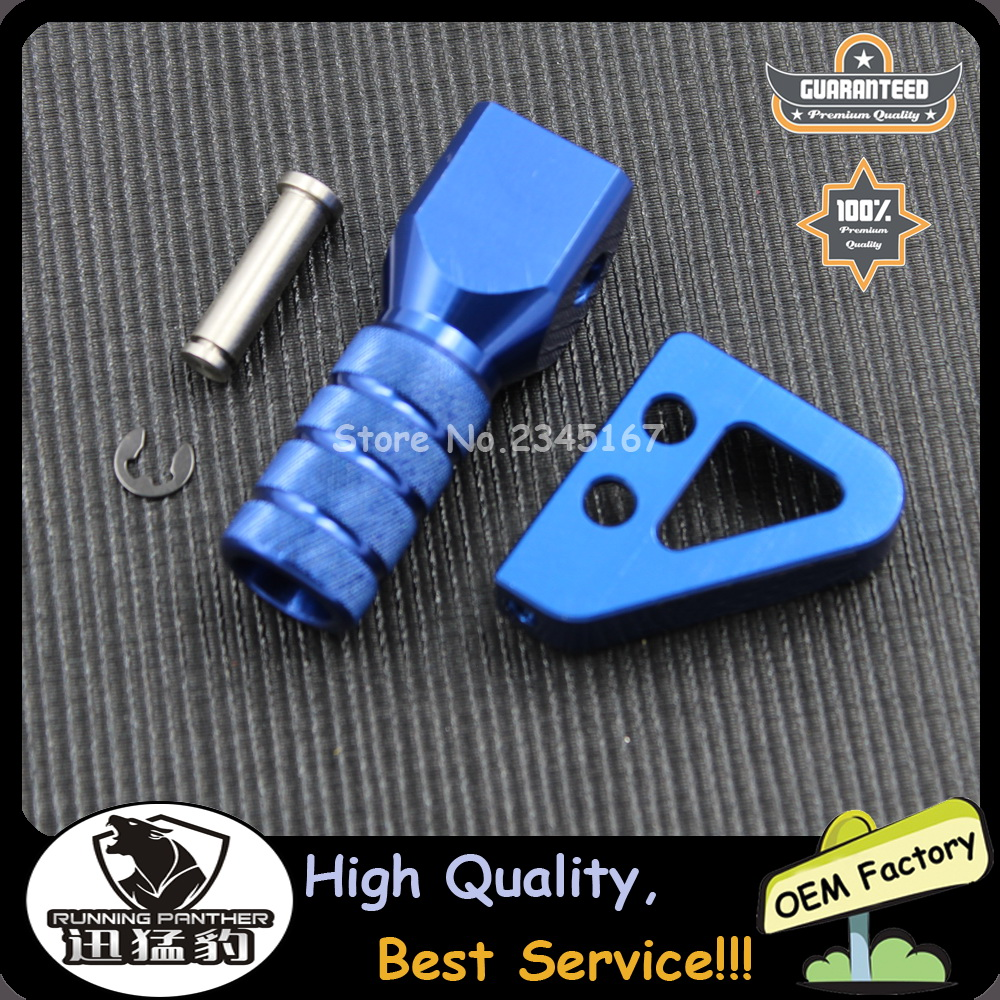 Set Rear Brake Pedal Step Tips /& Gear Shifter Lever Tip For KTM SX EXC XCF Blue
