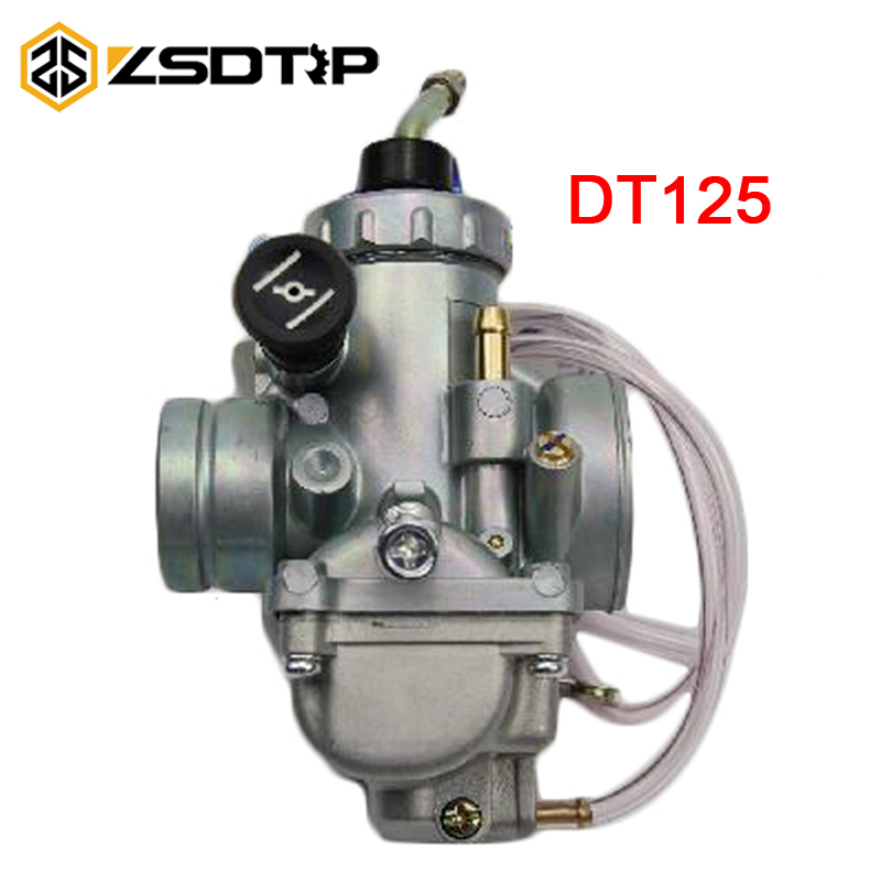 ZSDTRP 28mm Motorcycle Carburetor Carburador For Dirt Bike Yamaha DT125 DT 125 Suzuki TZR125 RM65 RM80