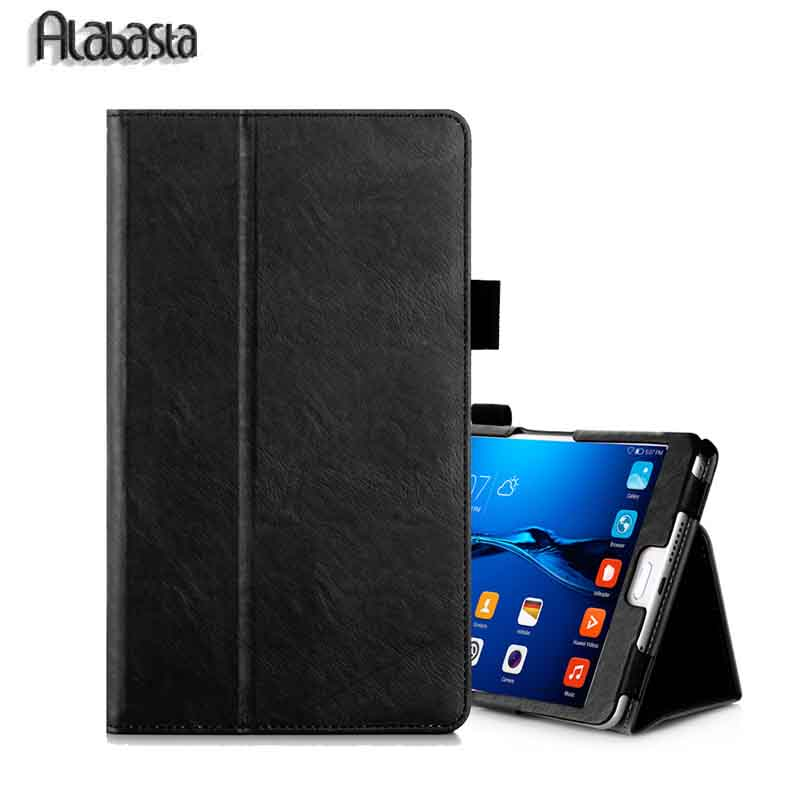 Ultra thin Smart Stand Alabasta Case For Huawei MediaPad Media Pad M2 M2-801W M2-803L 8 Tablet M2/T2 10 & 7 pro  Flip Cover for mediapad m2 ultra thin smart filp pu leather case cover for huawei mediapad m2 7 tablet case stand cover protective stand