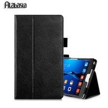 "Ultra delgada Elegante Del Soporte de Caja Arabasta Para MediaPad Huawei Media Pad M2 M2-801W M2-803L 8 ""tableta M2/T2 10"" y 7 ""pro Cubierta Del Tirón"