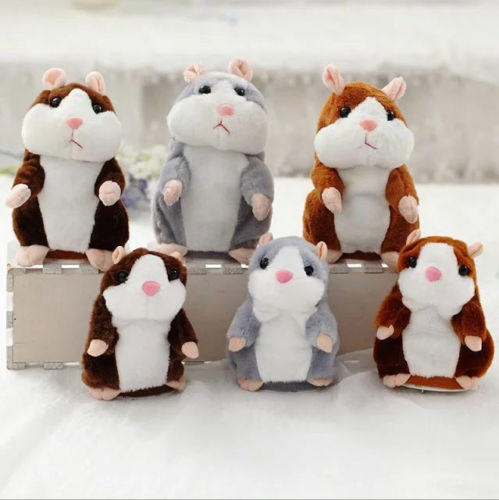 Cheeky Hamster Talking Pet Soft Toy Cute Sound Christmas Kid Gift xMAX