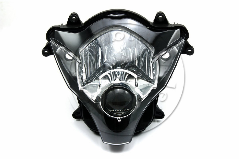 Motorcycle Front Headlight For <font><b>SUZUKI</b></font> <font><b>GSXR</b></font> 600 <font><b>750</b></font> GSXR600 GSXR750 2006 2007 K6 Head Light Lamp Assembly Headlamp Lighting <font><b>Parts</b></font> image