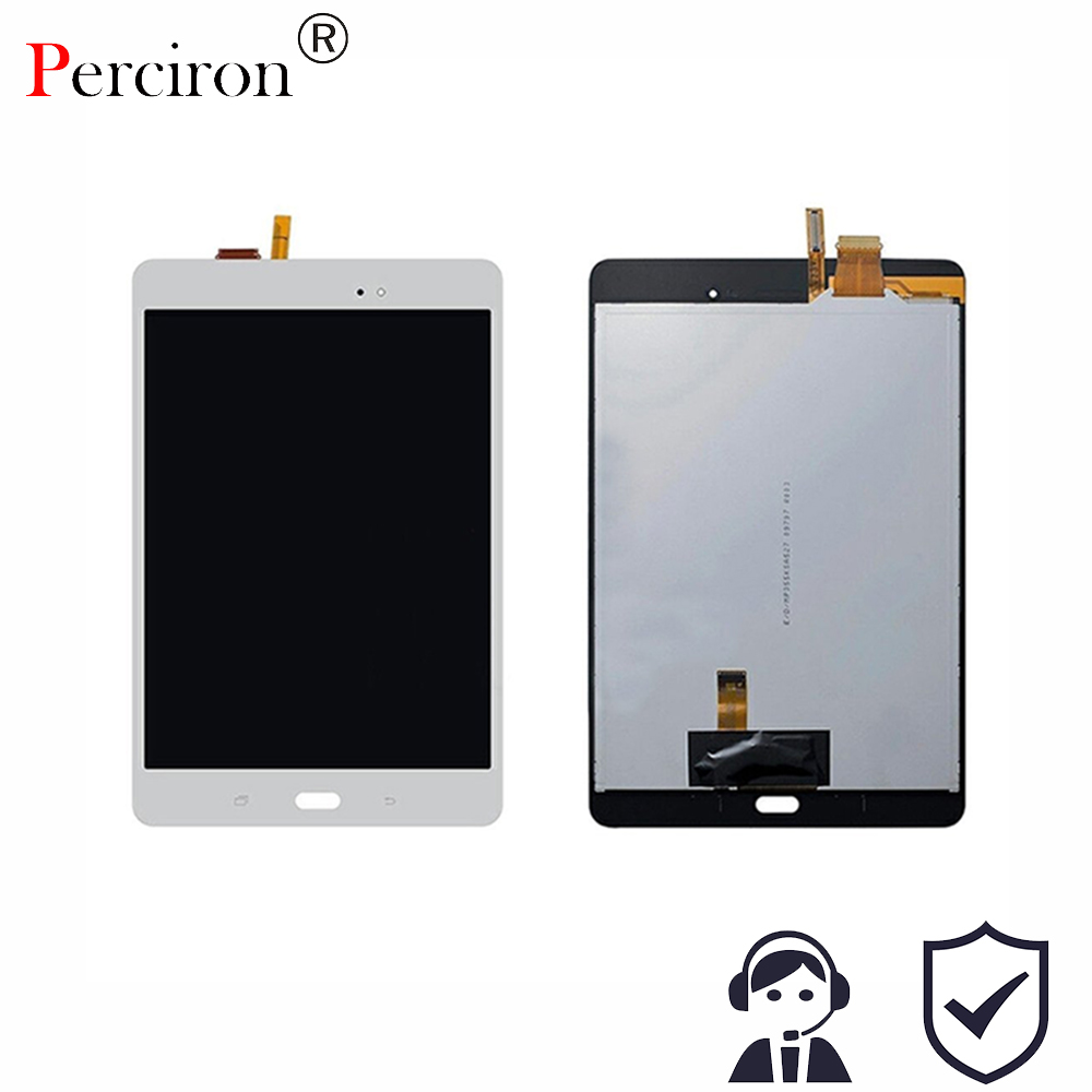 New Full LCD Display Monitor + Touch Screen Digitizer Panel Sensor Glass Assembly For Samsung Galaxy Tab A SM-P350 P350 aputure digital 7inch lcd field video monitor v screen vs 1 finehd field monitor accepts hdmi av for dslr