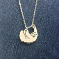 Cute Handmade Sloth Jewellery Animal Necklaces Pendants Jewelry Collier Femme za  Christmas Gift for women girls