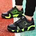 Novo 2016 Esporte Sapatos Casuais Homens Sapatos Da Moda Respirável Sapatos para Homem Sapatos Zapatillas Hombre Zapatos Além Big Size 39-45