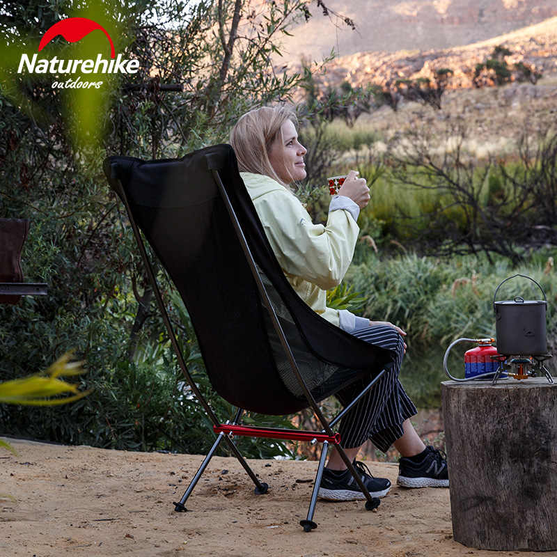 NatureHike Новый Портативный складной стул Кемпинг Пеший Туризм садоводство стул для барбекю складной стул art эскиз стул
