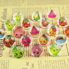 2017 Jewelry Rings Wholesale Jewellery Mix Lots 20pcs Lovely Children/kinds Cartoon fruit Princess  Pretty Ring Party Supplies