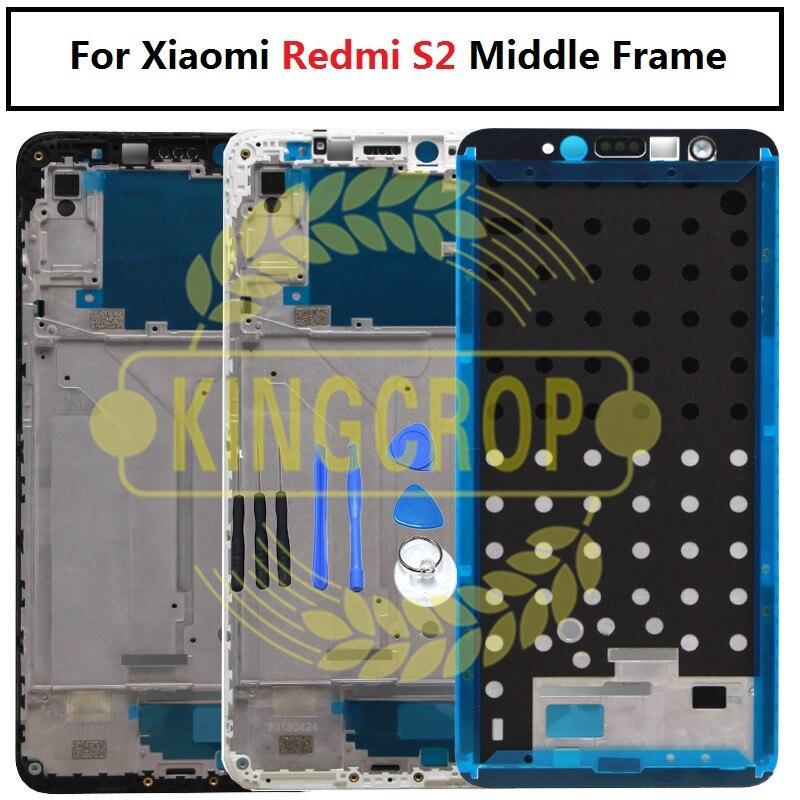 S2 средняя рамка ЖК-экран поддерживающий Корпус Передняя рамка/средняя рамка для Xiaomi Redmi S2 запасные части