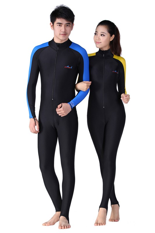 Long Sleeve Lycra UPF 50+ Rash Guards For Men Body Suits Snorkeling Diving  Jacket Skin Anti-UV Wear Surfing Sports Clothes 0054dd489