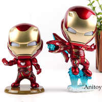 Marvel Iron Man Mark L Iron Man Action Figure Battling Version PVC Collection Model Toy with Light Up Fuction