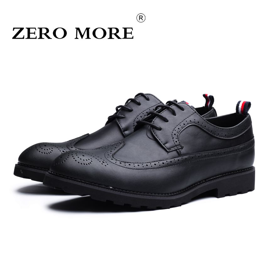 ZERO MORE Brand Fashion Men Shoes Casual Black Oxford Shoes For Men High Quality Soft Leather Men Wedding Shoes #ZM131 hot sale 2016 top quality brand shoes for men fashion casual shoes teenagers flat walking shoes high top canvas shoes zatapos