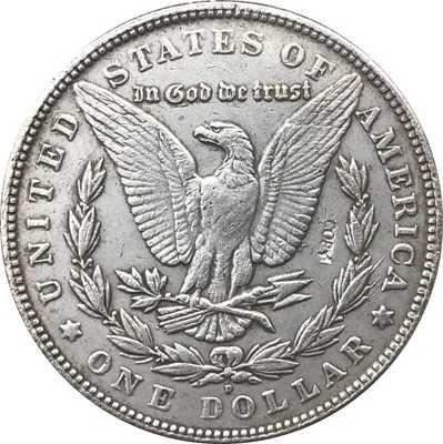 Hobo Nikkel 1921-D Vs Morgan Dollar Munt Copy Type 120