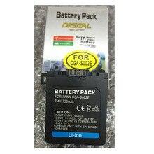 CGAS002 CGA-S002E литиевых батарей CGA S002 цифровых фотокамер S002E для Panasonic dmc-fz1 dmc-fz10 dmc-fz10eg-k dmc-fz3b