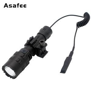 Image 4 - Asafee BC02 LED Đèn Pin Siêu Sáng USB Chống Nước Hướng Đạo Ánh Sáng Đèn Pin Săn Bắn Ánh Sáng 5 Chế Độ 1*18650