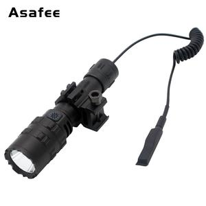 Image 4 - Asafee BC02 led 戦術的な懐中電灯超高輝度の usb 充電式防水スカウトライトトーチ狩猟ライト 5 モード 1*18650