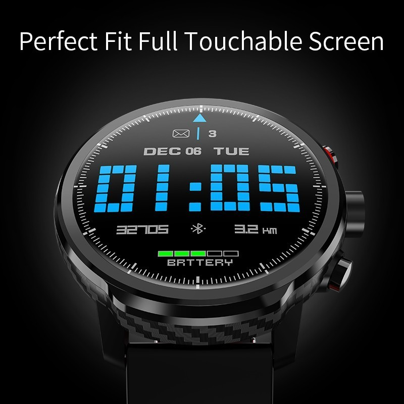 L5 Smart Watch Men IP68 Waterproof Standby 100 Days Multiple Sports Mode Heart Rate Monitoring Weather Forecast Smartwatch in Smart Wristbands from Consumer Electronics
