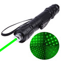 New 1000 to 8000 Meters Range 532nm Green Laser Pointer Pen Powerful Light Visible Beam US Plug