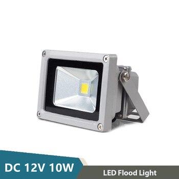 Светодиодный прожектор 12 вольт COB 10 Вт Высокая яркость Светодиодные лампы 12 вольт садовый уличный отражатель Ландшафтный светодиодный нару...