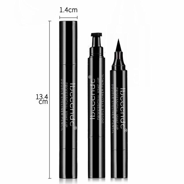 4 Style Eyeliner Stamp Pencil Black Liquid Makeup Waterproof Long-lasting Eye Liner Wing Stamps Eyes Liners Marker Pen Eyeliners 5