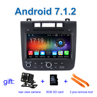 2 GB RAM Android 7.1 Car DVD Player Video for Volkswagen VW Touareg 2012 - 2016 with Radio WiFi BT GPS