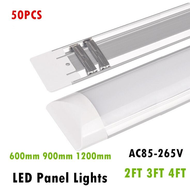 50PCS LED Panel Lights 2FT 3FT 4FT 20W 30W 40W LED Surface Mounted Ceiling Lamps Purification lights T5 T8 Tube Light AC85-265V щебень фракция 20 40 мм 50 кг