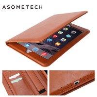 Luxury PU Leather Case For IPad 2 3 4 Retro Briefcase Auto Wake Up Sleep Inner