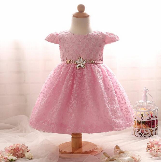 Nicoevaropa Girl Dress Fancy Christmas Christening Gown Infant Clothing Girls Kids Prom Party Princess Baby Baptism Dresses baby girls christening gown dresses hat shawl vestidos infantis princess wedding party lace dress for newborn baptism 3pcs