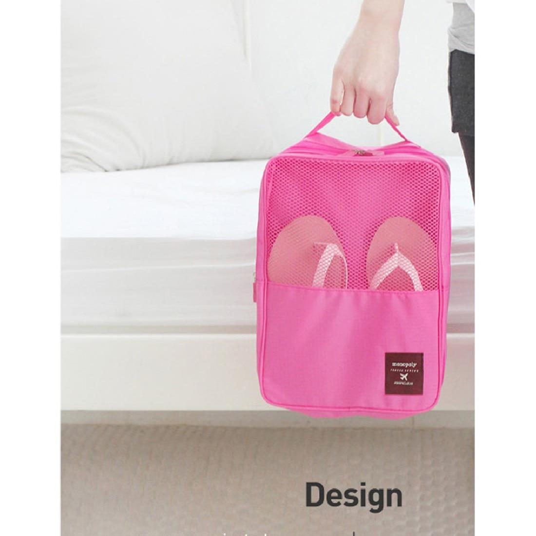 Holder Closet Storage Clothes Pouch Comestic Handbag Makeup New Waterproof  Nylon Shoes Box Organizer