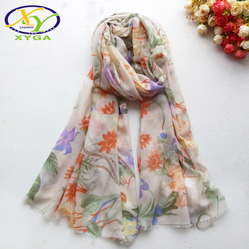 Women Cotton Long   Scarf   Soft Thin Summer Beach Shawls Muslim Hijab Head   Scarves   Female   Wraps   Autumn