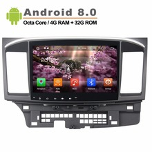 Android 8 0 Octa core 10 1 inch 1024 600 Car Video GPS stereo radio for