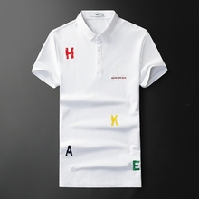 Very Good Quality Men's Polo Shirt Fashion 2019 New Arrivals Brand Polos Designer Embroidery Solid Short Sleeve Poloshirt F9952 irf9952pbf irf9952 f9952 sop8