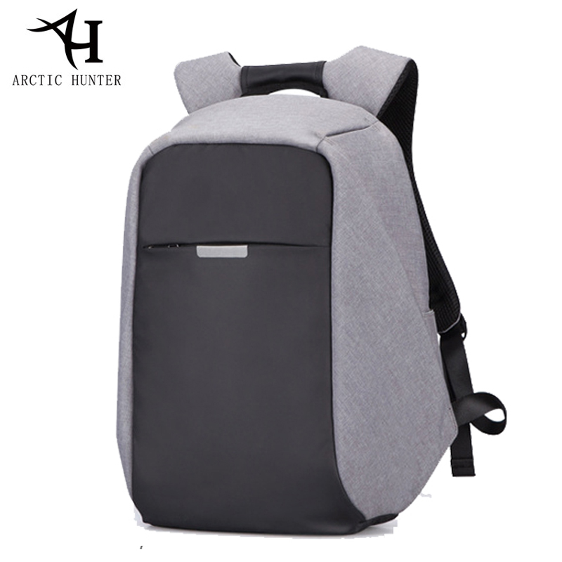 Arctic Hunter Men backpack Anti-Theft Business 15 Inch laptops Notebook backpack External USB Charge Waterproof Backpacks