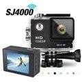 "GOLDFOX SJ 4000 WI-FI Действие Видео Фотоаппарат 12MP Водонепроницаемая Камера 1080 P HD 2 ""спорт DV мини Видеокамера Шлем Велосипеда Камеры"