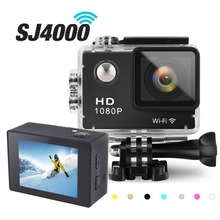 GOLDFOX SJ 4000 WIFI Action Video Photo Camera 12MP Waterproof Camera 1080P HD 2″ Sport DV mini Camcorder Helmet Bike Cam