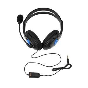Image 2 - Kebidu 1.9 متر السلكية الكمبيوتر الألعاب سماعة مع مايكروفون casque الصوت كتم التبديل إلغاء الضوضاء سماعة ل PS4 سوني بلاي ستيشن