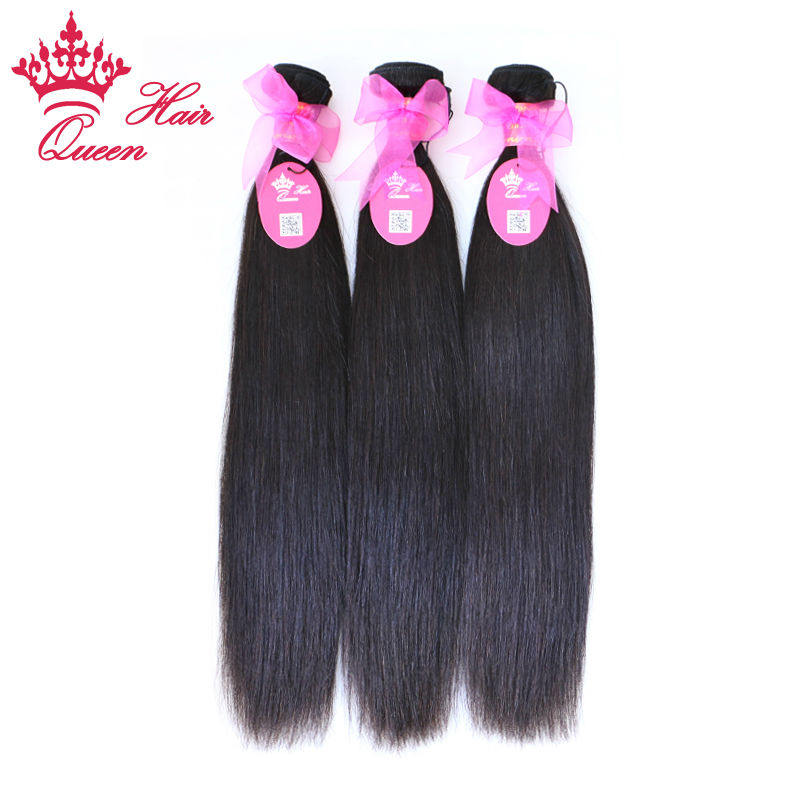 Queen Hair Products Brazilian Virgin Hair Straight 100% Unprocessed Virgin Human Hair Weave Bundles FAST SHIPPING by QueenHair