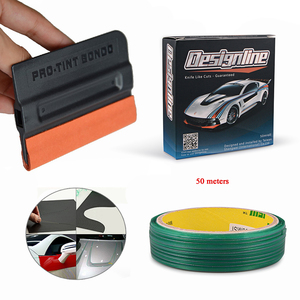 EHDIS 5/50M Car Stickers Knifeless Tape Design Line with Tint Squeegee Vinyl Car Wrap Film Cutting Tape Car Styling Accessories(China)