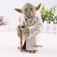Star Wars Figure Yoda Action Figure PVC Collectible Model Toy Gift 18cm KT4712