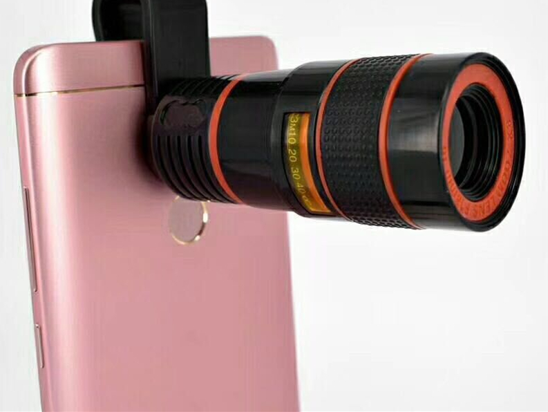 Universal hd handy teleobjektiv zoom optische teleskop kamera