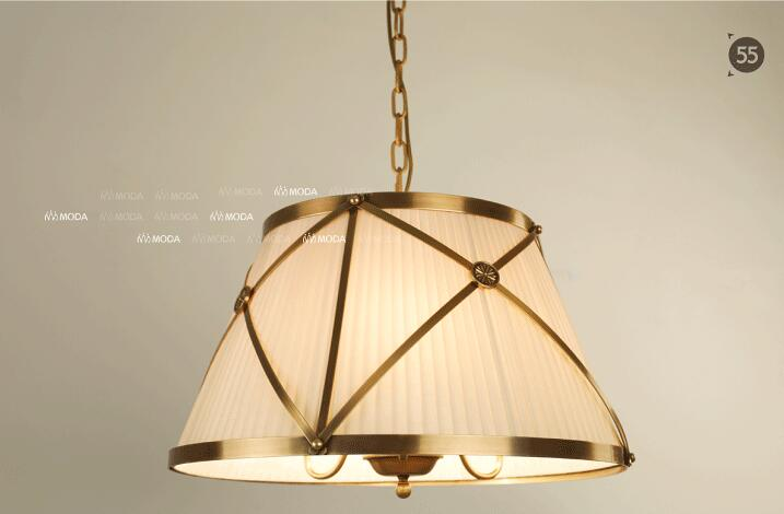 American Country Style Circle Wrought Iron Dining Room Pendant Light Cloth Art Cafe Light Bedroom Lamp Free Shipping