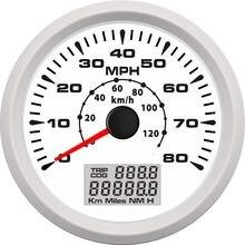 0 80 миль/ч 120 км/ч gps измеритель скорости одометра для лодок
