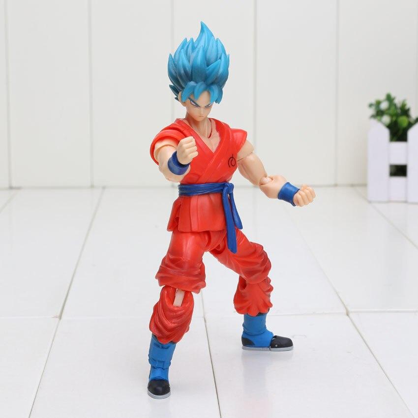 blue hair goku