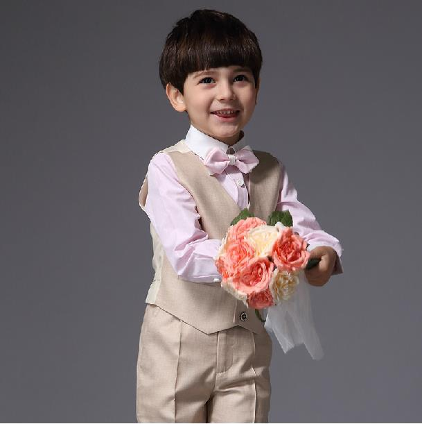 Aliexpress Wedding Party Dress Boy Single Ted Formal Solid Children Boys Costumes Little Suits From Reliable Suit For
