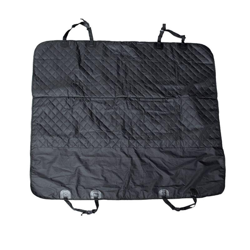 Car Supplies Luxury Full Protector Back Seat Pet Pad Car Waterproof Oxford Cloth Mat