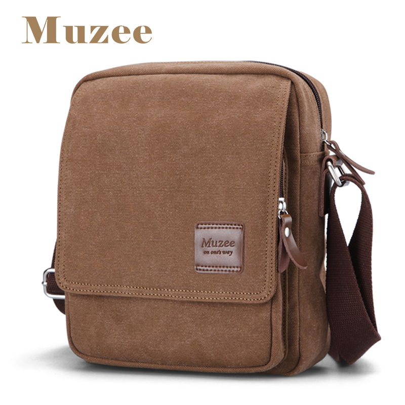 Muzee 2017 New Man&Male Crossbody bag Adjustable straps for s