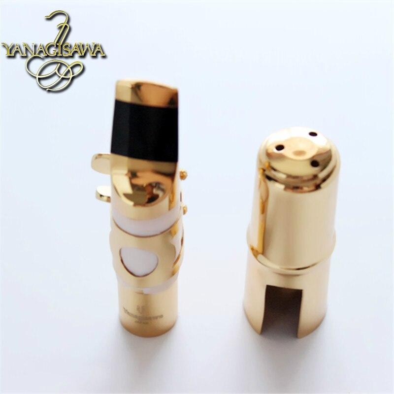ФОТО Japanese original Yanagisawa  Sax metal mouthpiece Please select  Alto mouthpiece  Tenor mouthpiece Yellow Brass